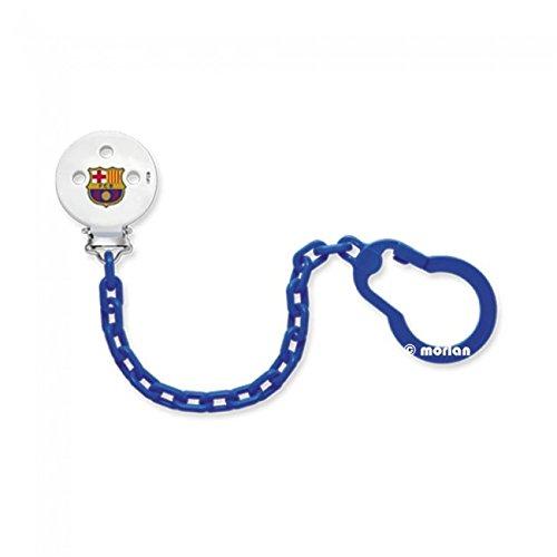 Nuk FC Barcelona Cadenita Sujeta Chupetes, 1Ud