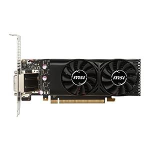 MSI GEFORCE GTX 1050 TI 4GT LP, 4GB GDDR5, 4096 MB GDDR5 / 7008 MHz Memory, GP107-400 Graphic Card (GeForce GTX 1050 Ti…