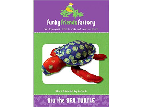Funky Friends Factory STU Sea Turtle Ptrn
