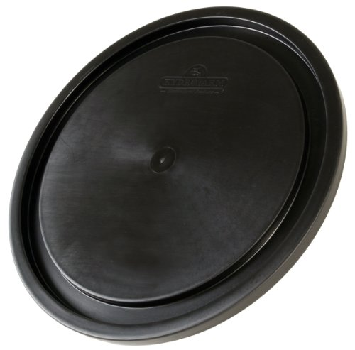 - 5 Gallon Bucket Lid, Black, pack of 10
