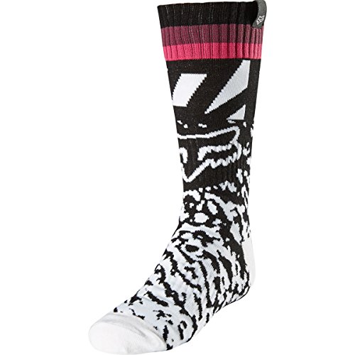 Fox Racing Fri Mx Socks (2018 Fox Racing Girls MX Socks-Black/Pink-YS)