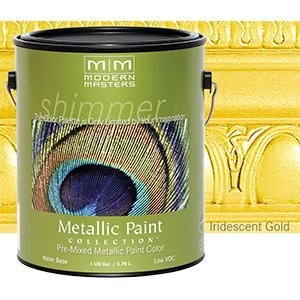 Ordinaire MODERN MASTERS ME194 GAL Metallic Paint Iridescent Gold
