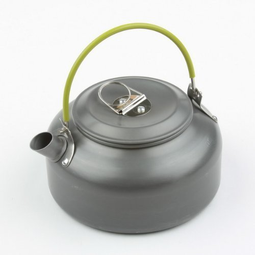 Wealers Aluminum 1.2l Outdoor Camping Hiking Kettle Coffee P