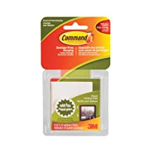 Command Medium Picture Hanging Strips, 12 lb Capacity, 6 Sets of Medium Strips, (17204C)