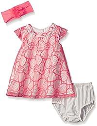 Baby Girls' Flutter Sleeve Dressy Dresses