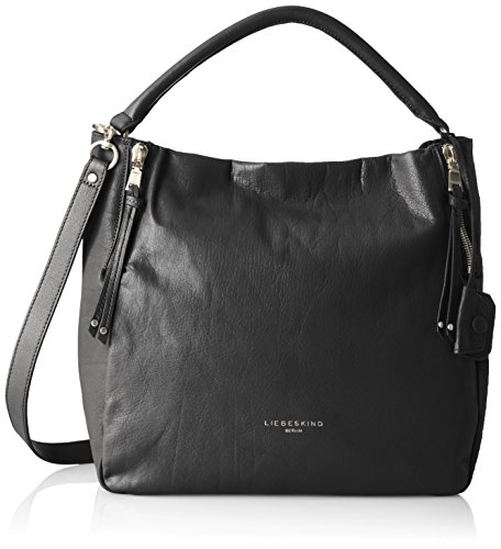 Women's Black Liebeskind Kano Hobo Berlin Leather 5wqUP