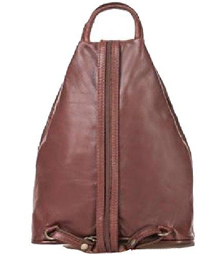 Bottega Carele - Bolso mochila  de Piel para mujer marrón