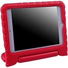 HDE iPad Mini 4 Case for Kids with Stand Protective Shock Proof Convertible Lightweight Cover for 4th Generation Apple iPad Mini 4 - 2015 Release (Red)
