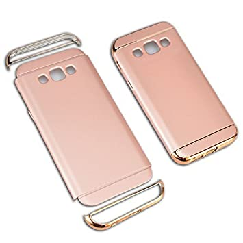Funda Samsung Galaxy J5 2016 Cover, Vandot Ultra Delgado Anti-Arañazos Protección Duro PC Carcasa Enchapado Protectora de Parachoques Trasero 3 en 1 ...