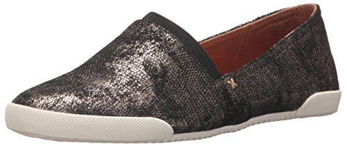 Womens Gold Digger - FRYE Women's Melanie Slip ON Fashion Sneaker, Gold/Metallic Leather, 7.5 M US