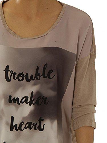 Catwalk Junkie Shirts Langarmshirts Ls Troubles - Frappe Usp 1602040614-254
