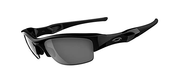 oakley sunglasses amazon  oakley men's flak jacket iridium asian fit sunglasses,jet black frame/black lens,