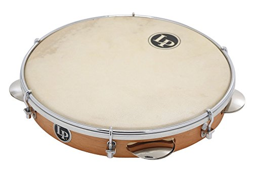 LP Brazilian Wood Pandeiro 10 w/ Natural Head by LP