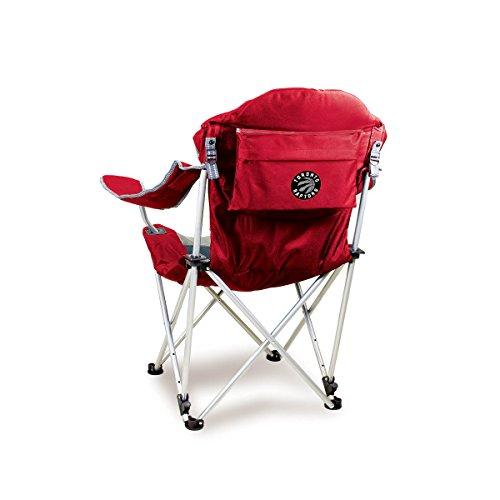 Toronto Raptors Folding Chair - NBA Toronto Raptors Reclining Camp Chair, Red