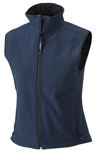 Trendige Damen-Weste aus Softshell navy XL