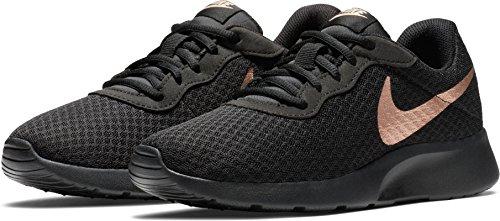 Nike Femmes  Tanjun Chaussure De Course Noir   Femmes Mtlc Rouge Bronze 67002d