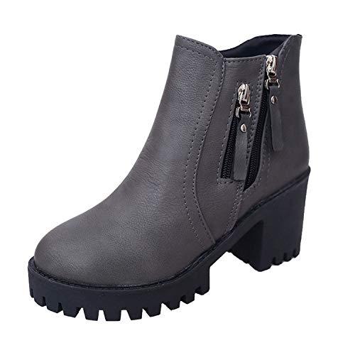 HOESCZS Frauen Frauen Frauen Schuhe Frauen Herbst Und Winter Frauen Martin Stiefel Wilde Seite Mit Frauen Stiefel b1eaba