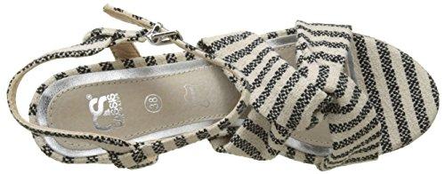 COTE Strap CASSIS Noir Sandals Ankle Black Louxia D'AZUR Women's FwZqdf
