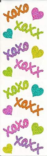 - Mrs. Grossman's Sparkle Hugs Kisses Stickers