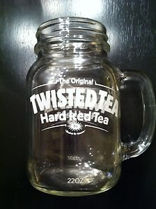 Amazoncom Twisted Tea Xl Mason Jar Mug Kitchen Dining
