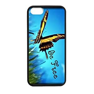 Be Free Butterfly Case for iPhone for iPhone 5 5s case