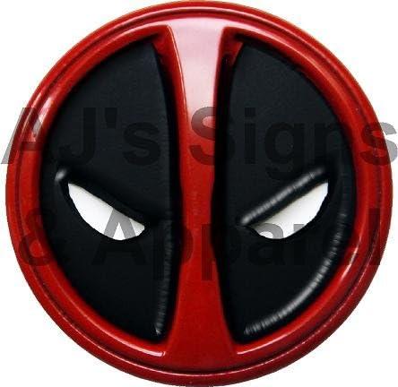 "Deadpool Marvel Vinyl Sticker Decal Car  Window Laptop 6/"""