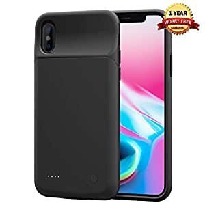 Amazon.com: Funda para iPhone X/XS XS Max XR con batería ...