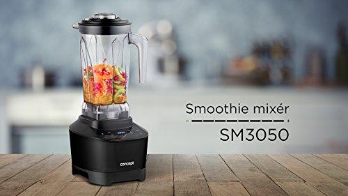 Concept Electrodomésticos sm3050 Batidora Smoothie Maker de 33 000 revoluciones/min, 1500 W, 2 litros, Plástico, Negro: Amazon.es: Hogar
