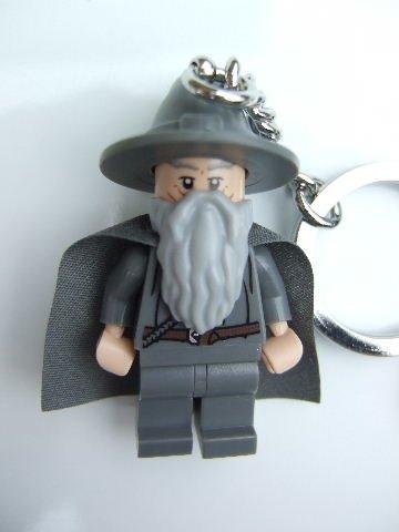 LEGO Lord of the Rings Gandalf the Grey Key Chain 6016914 B008XQ277W