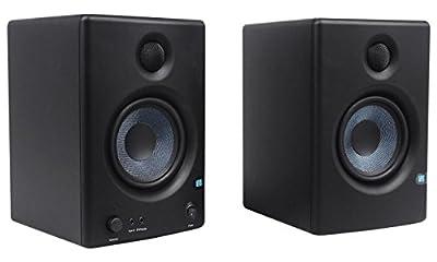 "2 Presonus Eris E4.5 4.5"" Powered Studio Monitors+(2) Stands+Foam Isolation Pads from Presonus"
