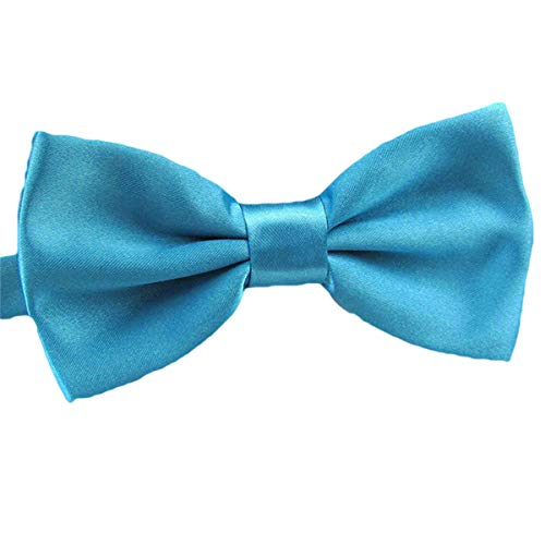 2016 Male Fashion Bow Tie For Wedding Party Mens Toddler Youth Boys Women Dog Lake Blue, One Size