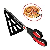 flintronic Pizza Kitchen Shears, Stainless Steel Scissors Cutter with Detachable Pizza Shovel, (Multi-function Not just for pizza) Kitchen Gadget