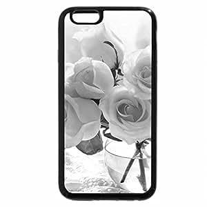 iPhone 6S Plus Case, iPhone 6 Plus Case (Black & White) - White Love