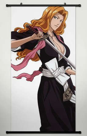 Wall Scroll Poster Fabric Painting For Anime Bleach Matsumot