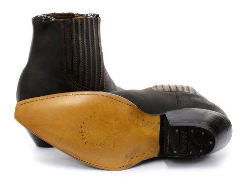 Grinders - Botas para hombre Crazy Horse Dark Brown marrón - Crazy Horse Dark Brown