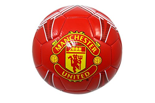 Manchester United FC Authentic Official Licensed Soccer Ball Size 5 -006 (Manchester United Soccer Logo)