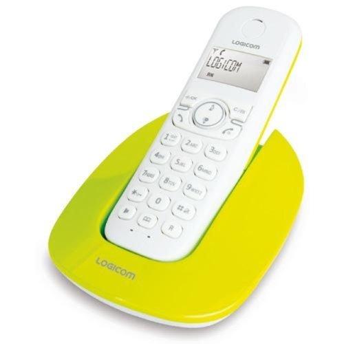 T�l�phone fixe LOGICOM MANTA 150 VERT SOLO