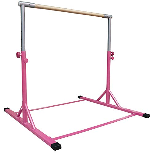 Z-Athletic Gymnastics Expandable Kip Bar (Pink)