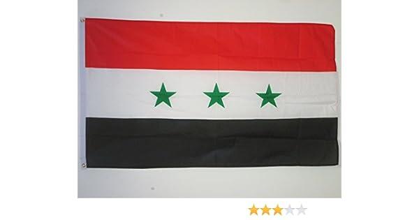 AZ FLAG Bandera de Irak Antigua 150x90cm - Bandera IRAQUÍ 90 x 150 cm: Amazon.es: Hogar