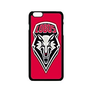 """Snap On-NCAA New Mexico Lobos With Hard Shell Case for iPhone 6 4.7""""-Black"""