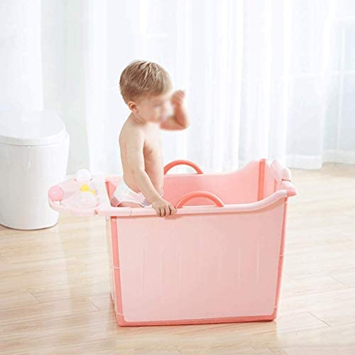 Kk 折りたたみお風呂浴槽、折りたたみお風呂浴槽、増粘剤タブについてはこども家庭用、バスタブ付きの浴室プラスチック(55x47x48cm)