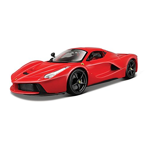 Bburago 1:18 Scale Ferrari Race and Play LaFerrari Diecast Vehicle (Colors May Vary) (Vehicle Scale Diecast 18)