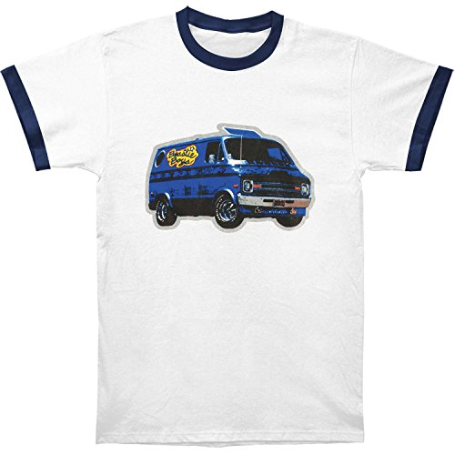 LIcensed Beastie Boys Van Art Ringer T-shirt. S to XXL