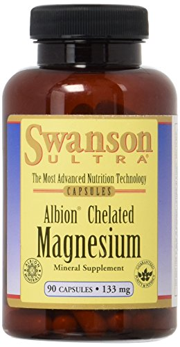 Albion Chelated Magnesium 133 mg 90 Caps