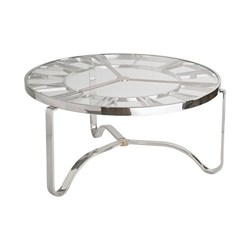 Stein World Cocktail Table in Silver Finish