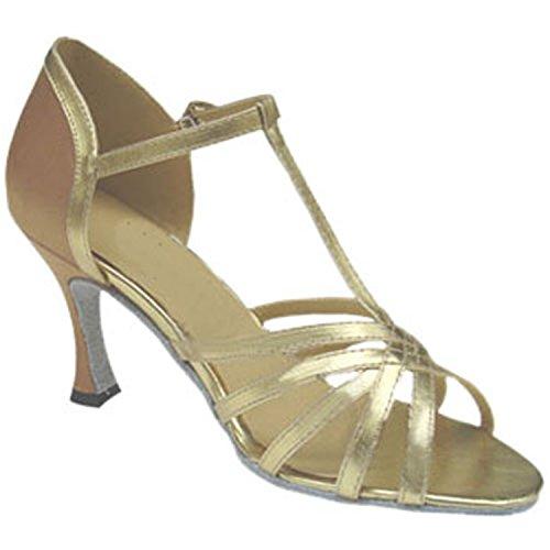 Baile Verano Oro BYLE de Sandalias Zapatos Zapatos Latino Baile Jazz Latino de Samba Adultos Cuero Onecolor Baile Tobillo de de de Zapatos Zapatos Modern de Tira de fzqTfpx