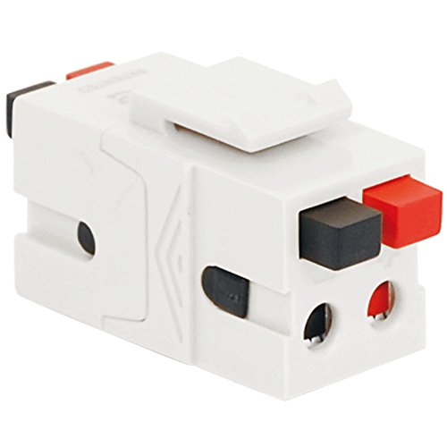 Dual Speaker Module (Module-Speaker-Dual-Front.Back Button White)