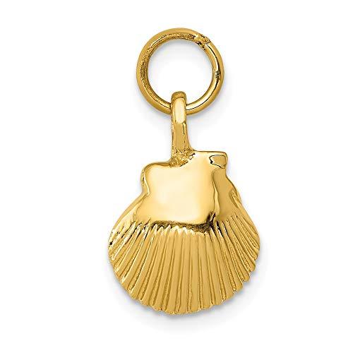 14K Yellow Gold Seashell ()