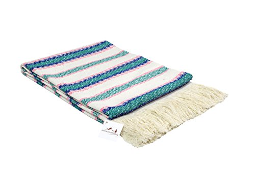Mexican Vintage Blanket Traditional Pastel product image