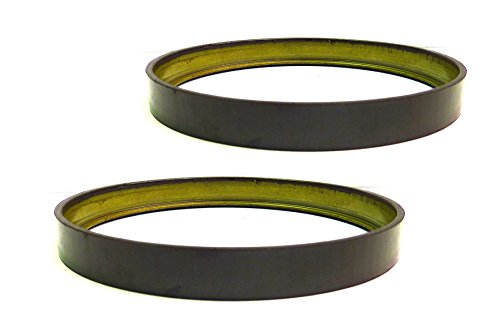 - 2 Axle ABS Tone Rings (Rubber Relutor Rings) With Magnetic Encoding 213132ABS For Chrylser 300 Dodge Charger Magnum Challenger